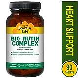 Country Life Citrus Bio-Rutin Complex - 500 mg/500 mg, 90 Tablets