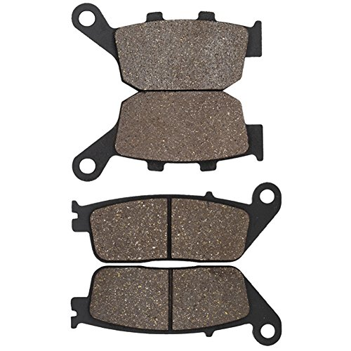 Cyleto Front and Rear Brake Pads for Honda CBR300R CBR 300R CBR300RA 2015 2016 / CBR 500R CBR500R CBR500RA 2013 2014