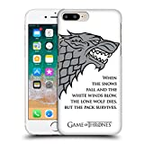 Official HBO Game Of Thrones White Winds Graphics Hard Back Case for Apple iPhone 7 Plus / 8 Plus