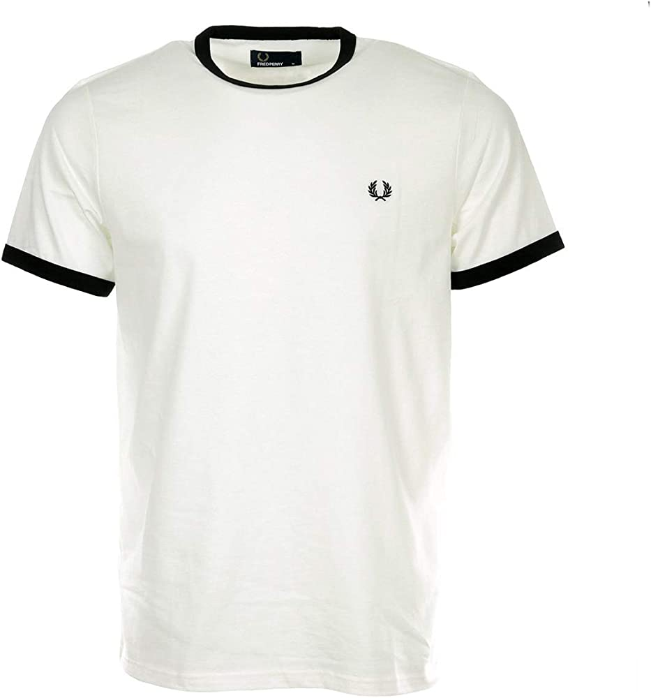 Fred Perry Ringer T-Shirt, Camiseta - XL: Amazon.es: Ropa y accesorios