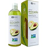 Pure Avocado Oil (16oz). 100% Natural, Food Grade and Non-GMO Verified. UV Resistant BPA free bottle - 100% Satisfaction Guarantee