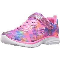 Skechers Kids Kids' Spirit Sprintz-Rainbow Raz Sneaker Running Shoe