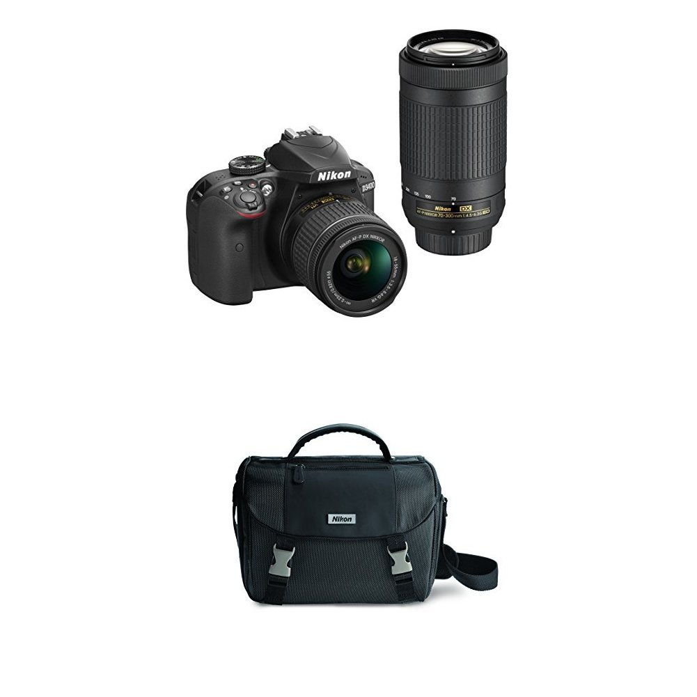 Amazon.com: Nikon D3400 w/ AF-P DX NIKKOR 0.709-2.165 in f ...