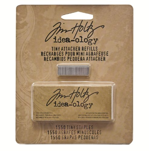advantus-metal-tiny-attacher-refills-by-tim-holtz-idea-ology-box-of-1550-staples-25-inches-th92801