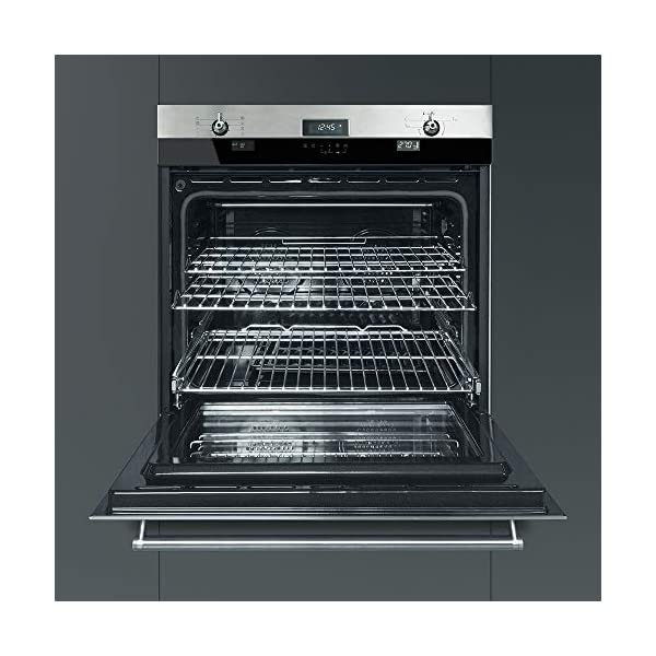 Smeg SOU330X1 Classic Aesthetic 30-Inch Stainless Steel Electric Multifunction Wall Oven 4