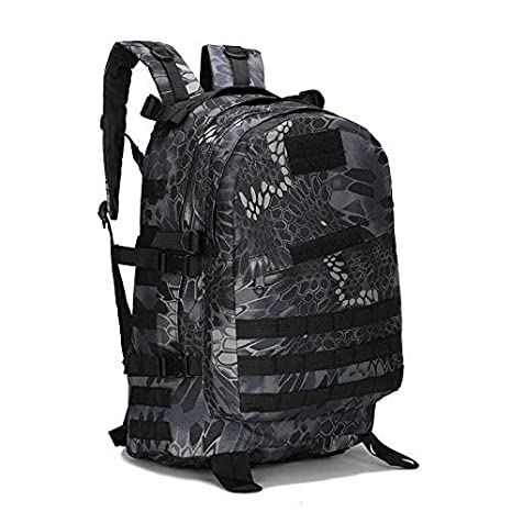 f8cc17eace4 PPPGW Backpack 40L Camo Waterproof Outdoor Military Rucksacks Tactical  Durable Sports Camping Hiking Trekking Fishing Hunting Daypack School Bag  for Teen ...