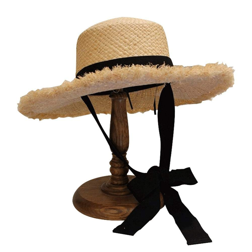Natural Raffia Woven Hat Environmentally Friendly Technology, Non-Toxic, Non-polluting, Non-Fading by RKRGQ