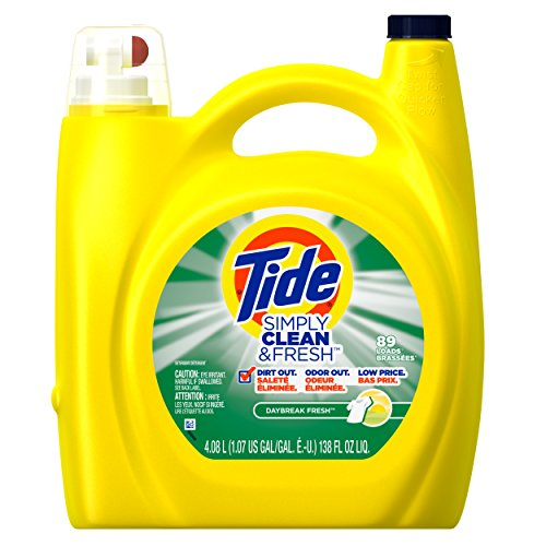 Price comparison product image Simply Tide Clean & Fresh Refreshing Breeze Liquid Laundry Detergent,  138 Ounce