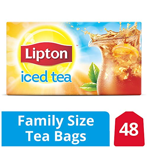 - Lipton Black Iced Tea, Family Size 48 ct
