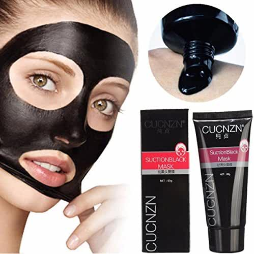 Blackhead Remover Mask,Black Head Facial Mask Deep Cleansing Purifying Peel-off Mask,Black Mud Face Mask,Blackhead Cleansing Mask
