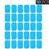 #2: The lucky star 15 Sets Of 30 Pads Abs Trainer Replacement Gel Sheet for Ab Trainer