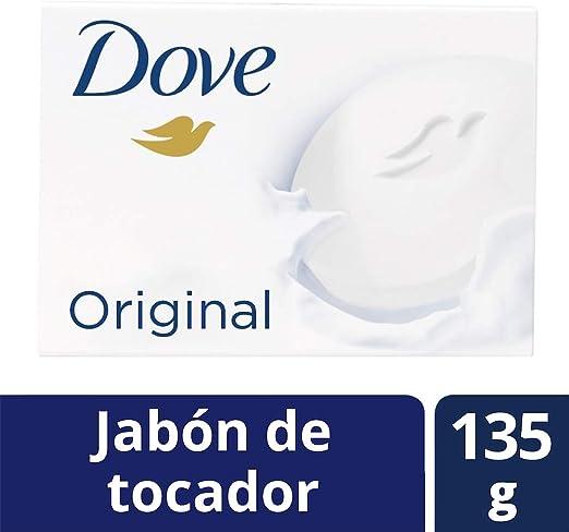 DOVE Jabón de tocador Original 135 g: Amazon.com.mx