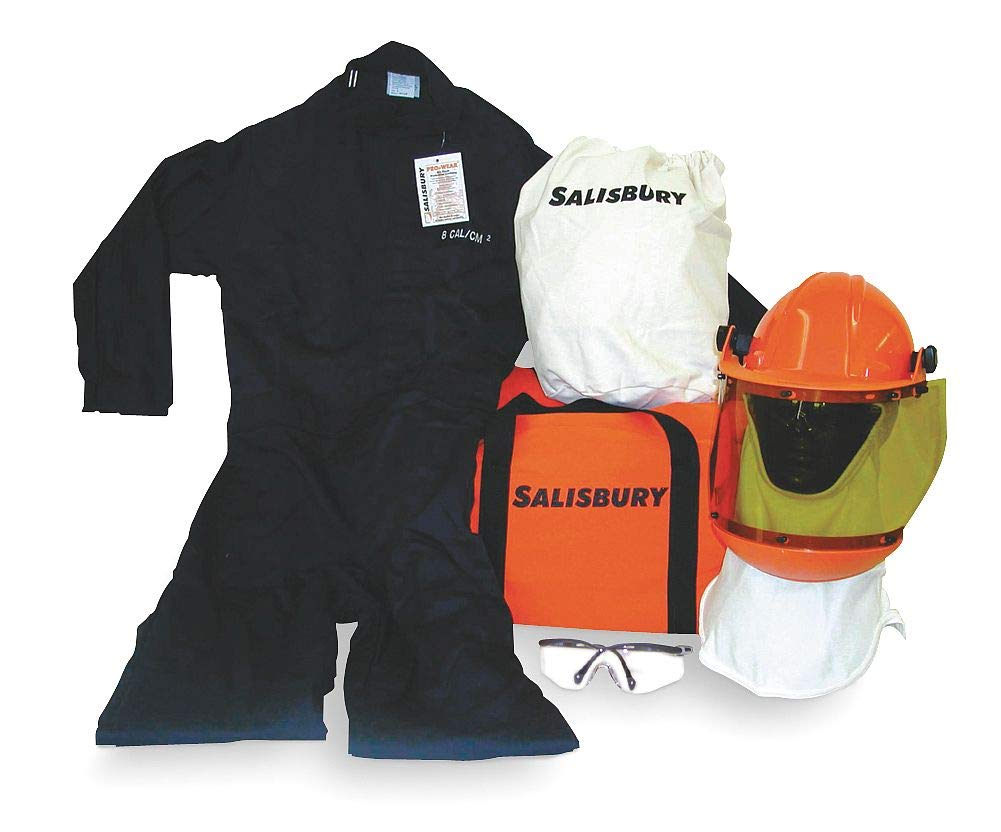 Salisbury by Honeywell SKCA8- Arc Flash Protective Coverall Kits, 8 Cal/cm2, Extra Large