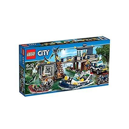 Buy Lego City Police Swamp Police Station, Multi Color Online at Low ...