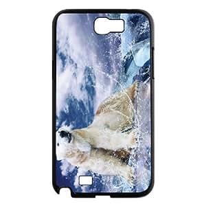 Samsung Galaxy Note 2 N7100 Polar bear Phone Back Case Customized Art Print Design Hard Shell Protection HG073171