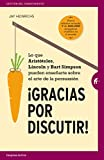 img - for Gracias por discutir (Spanish Edition) book / textbook / text book