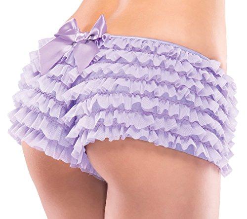 Coquette - Shorts - para mujer morado