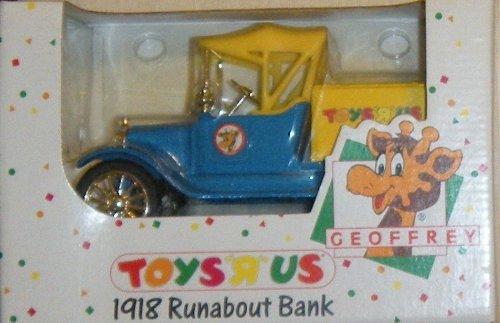 Toys R Us: Geoffrey - 1918 Runabout Bank by ERTL