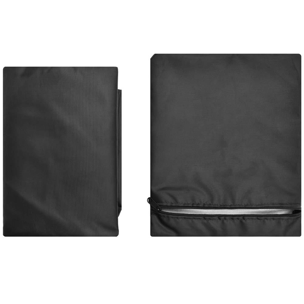 Ichiias Grill Cover Oxford Cloth Outdoor Impermeable Anti UV A Prueba de Polvo BBQ Cover Garden Barbecue Protector 01