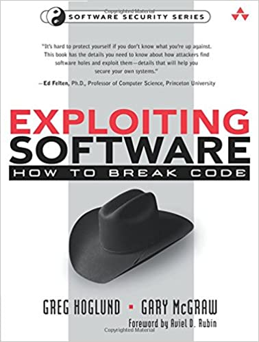Exploiting software how to break code greg hoglund gary mcgraw exploiting software how to break code greg hoglund gary mcgraw 9780201786958 amazon books fandeluxe Images