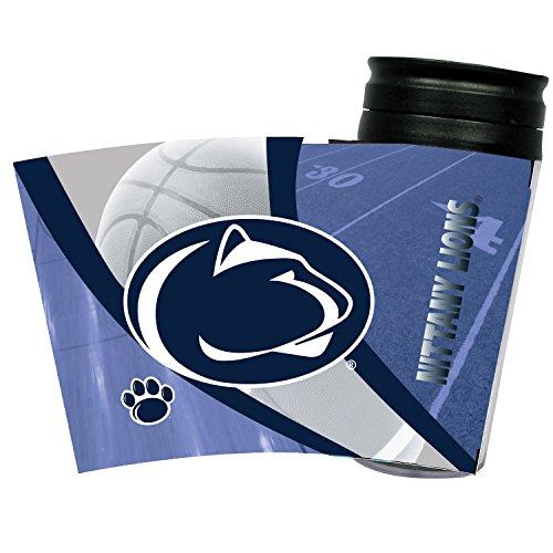 Penn State Nittany Lions Insulated Travel Tumbler Mug 16 (16 Ounce Frosty Mug)