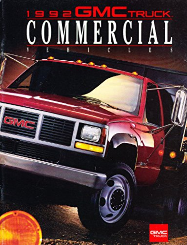 1992 GMC Commercial Truck 36-page Original Car Sales Brochure - Sierra Vandura Cargo Van HD Pickup Sonoma Safari Magnavan - Gmc Commercial Trucks