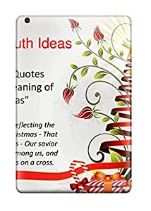 2015 Case For Ipad Mini With Nice Christmas Wishes Quotes Appearance