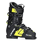 Lange SX 100 Ski Boots Black/Yellow 28.5