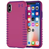 Under Armour UA Protect Grip Case for iPhone X - Pink/Purple - In Retail Packaging