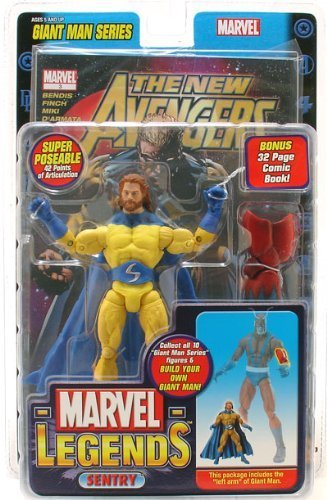 Marvel Legends Giant Man Series Sentry Action Figure w/ Giant Man Builder Piece by Marvel