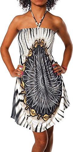 Imprimer color de Bandeau 021 robe design Aztec robe robe Maxi de Femmes licou plage F Paisley soire Noir robe fleur zqtan0g