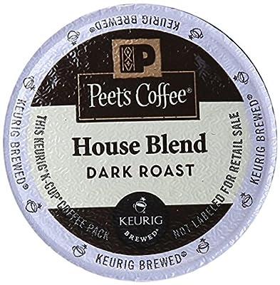 Peet's Coffee K-Cup Portion Coffee for Keurig Brewers - Deep Roast House Blend
