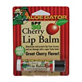 Aloe Gator Lip Balm SPF 30, Cherry