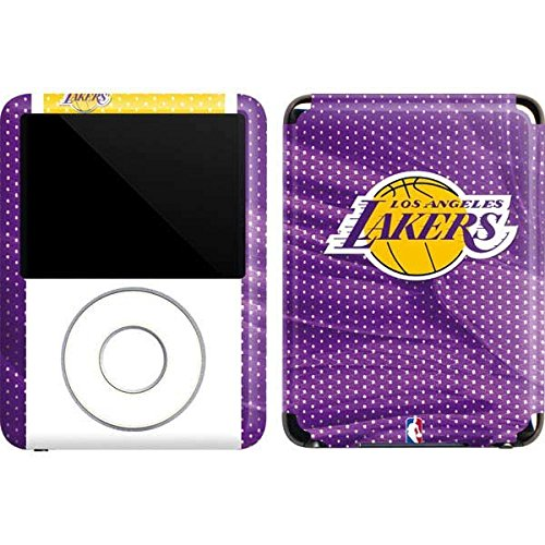 Skinit Los Angeles Lakers Home Jersey Vinyl Skin for iPod Nano (3rd Gen) 4GB/8GB