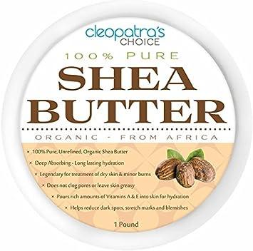 Amazon Com Organic Shea Butter Raw Unrefined Premium Quality