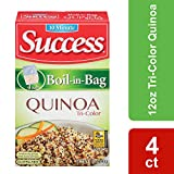 Success Boil in Bag Tri-Colored Quinoa, 12-Ounce (Pack of 6)