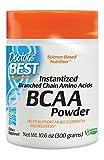 Doctor's Best Instantized BCAA Powder, Non-GMO, Gluten Free, 300 Grams