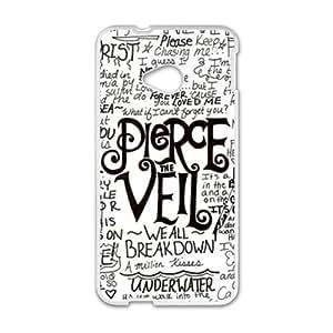 Pierce Veil White htc m7 case