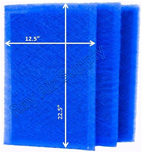 RAYAIR SUPPLY 14x25 Air Ranger Replacement Filter Pads 14X25 (3 Pack)