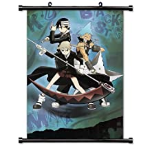 """Soul Eater Fabric Wall Scroll Poster (16"""" x 22"""") Inches [TJ]-soul eater-47"""