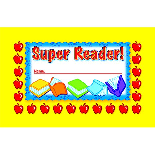 North Star Teacher Resource Super Reader Incentive Punch Cards