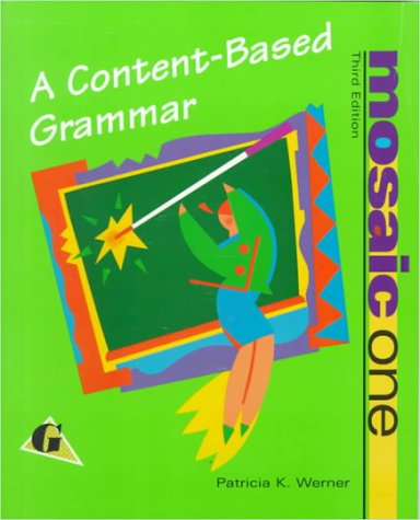 Mosaic One: A Content-Based Grammar