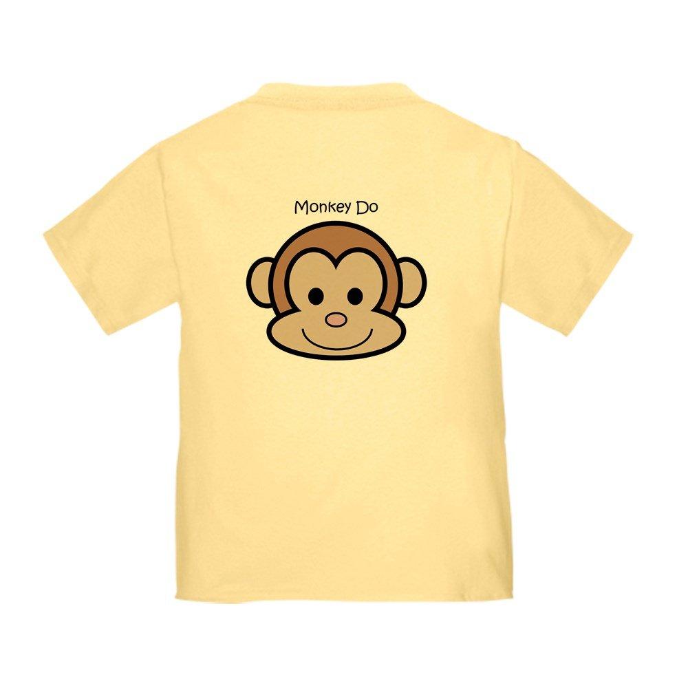CafePress Monkey See Monkey Do Toddler Toddler Tshirt