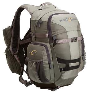 William joseph exodus ii pack blue 11x19x16 for Fishing backpack amazon