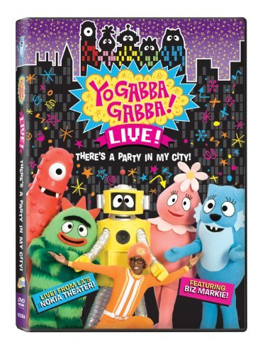 Yo Gabba Gabba: There's a Party in My City [DVD] [Region 1] [US Import] [NTSC] -