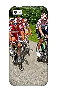 Protective Tpu Case With Fashion Design For iphone 4s (le Tour De France)