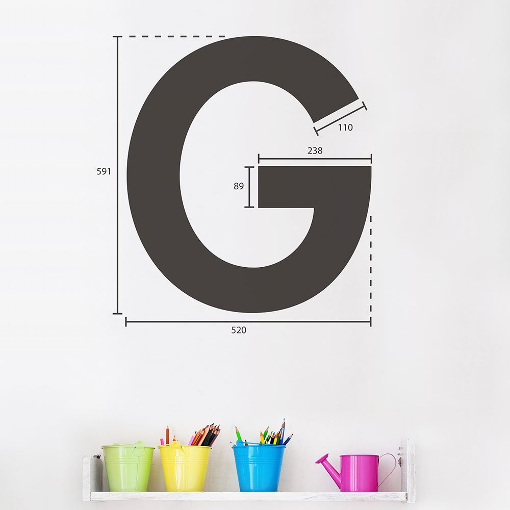 Multicolored AdzifGive me a G Wall Decals
