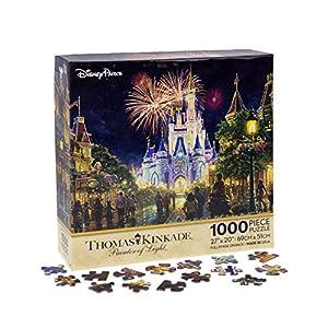 Walt Disney World Thomas Kinkade Main Street U.S.A. Fireworks 27″x20″ 1000 Piece Puzzle