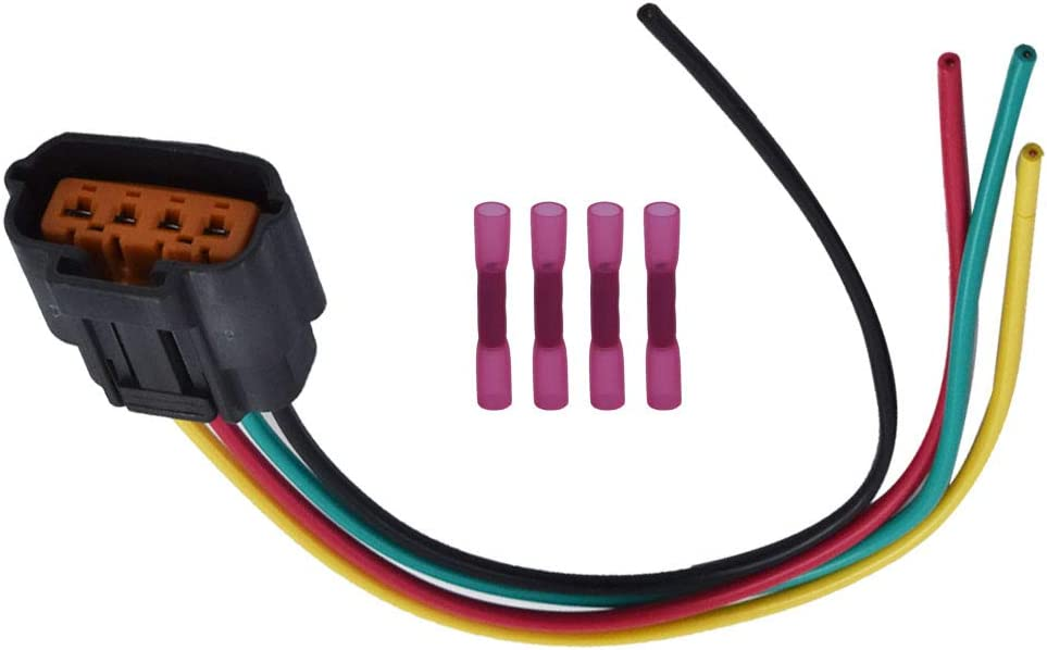labwork Distributor Connector Plug Harness Pigtail 4-Wire fit for Mazda B2600i B2600