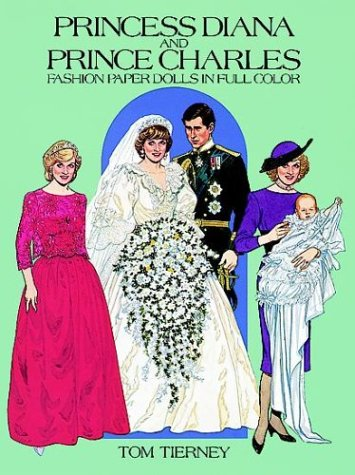 [Princess Diana and Prince Charles Fashion Paper Dolls in Full Color] (Adult Pear Costumes)